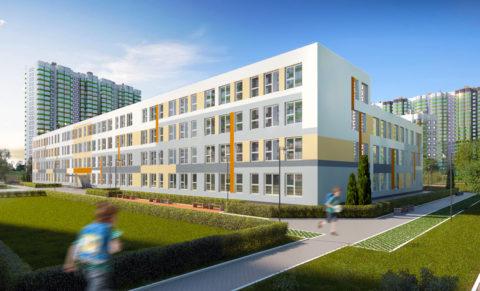 Школа на 1175 мест, Мурино, «SETL CITY» 3D
