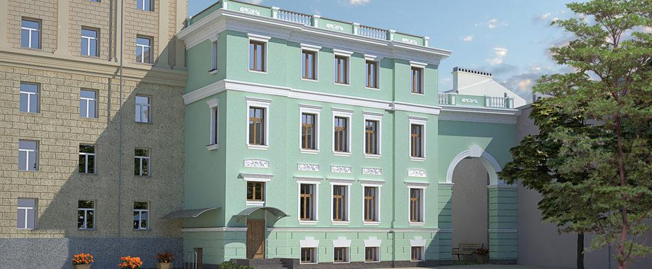 Офисное здание компании «Бюро Техники-Проект»
