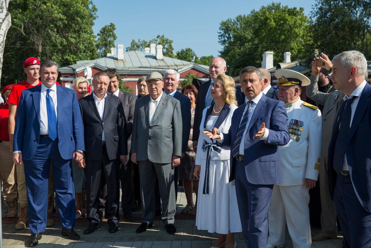 Открытие Аллеи адмиралов Парк Патриот_005