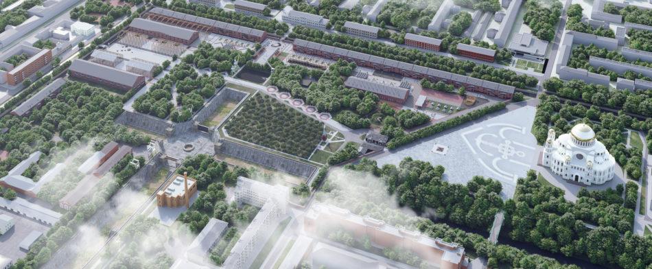 Концепция развития территории Парка «Патриот»