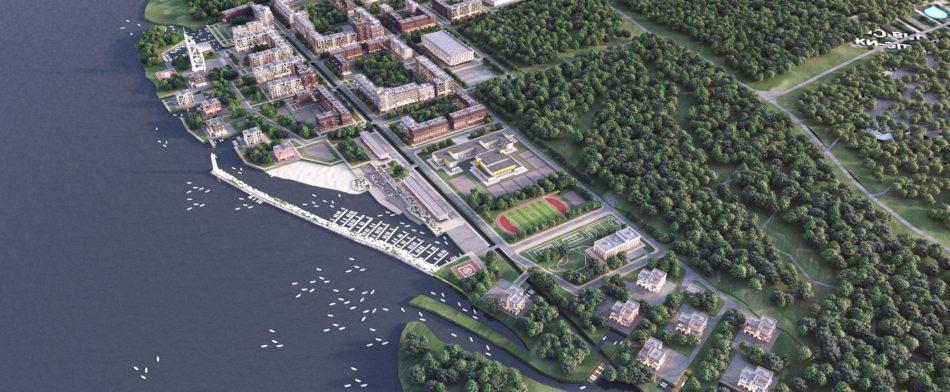 Концепция комплексного развития территории Большая Ижора