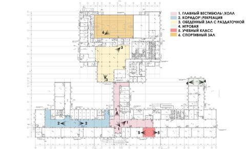Схема видов_1 этаж