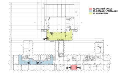 Схема видов_3 этаж