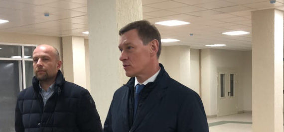 Вице-губернатор Михаил Иванович Москвин осмотрел построенный объект начального и среднего общего образования на 950 мест в ЖК «МУРИНО 2017».