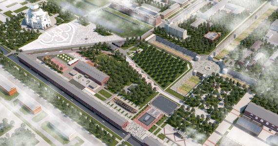 Стали известны перспективы развития парка «Патриот» ЗВО в Кронштадте