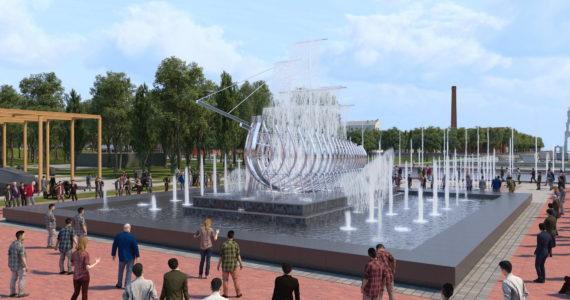 Отчет о проделанной проектно-изыскательной работе на объекте парк «Патриот» в Кронштадте.