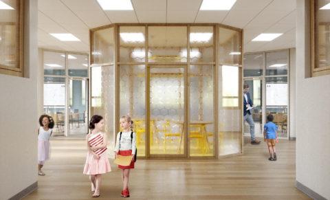 Дизайн интерьера холла-рекреации