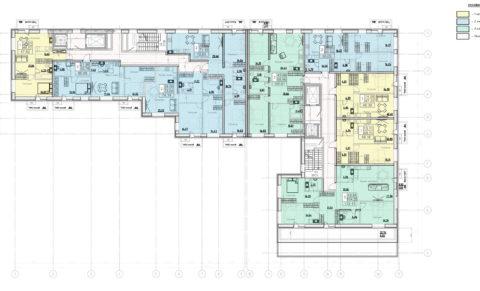 План 10 этажа
