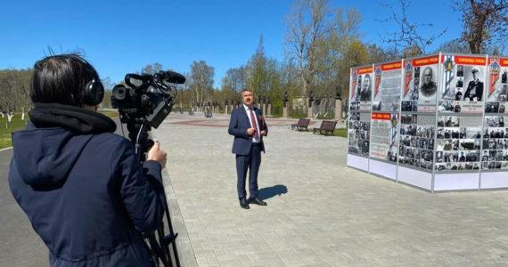 Первая онлайн трансляция с территории Парка «Патриот» ЗВО