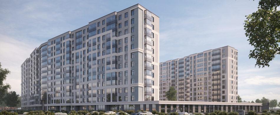 Многоквартирный многоэтажный жилой дом со встроенно-пристроенными помещениями и подземной автостоянкой
