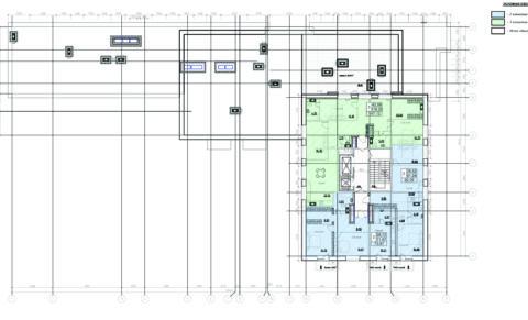 План 9 этажа