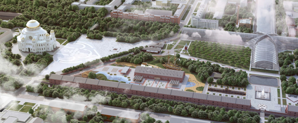 Концепция развития территории парка «Патриот» ЗВО 2020