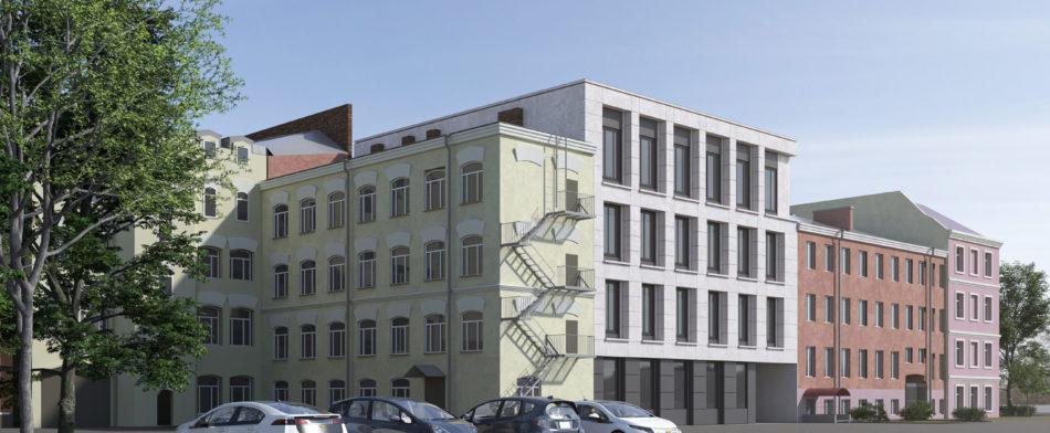 Здание делового управления