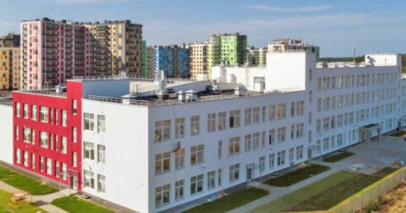 Окончание строительства школы на 825 мест в Янино
